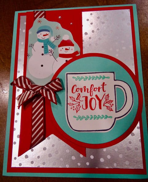 Comfort & Joy Christmas Card