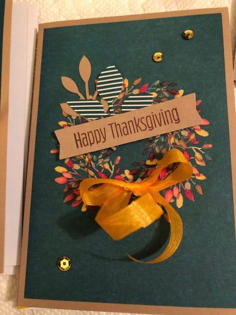 Card made with Paper Pumpkin supplies